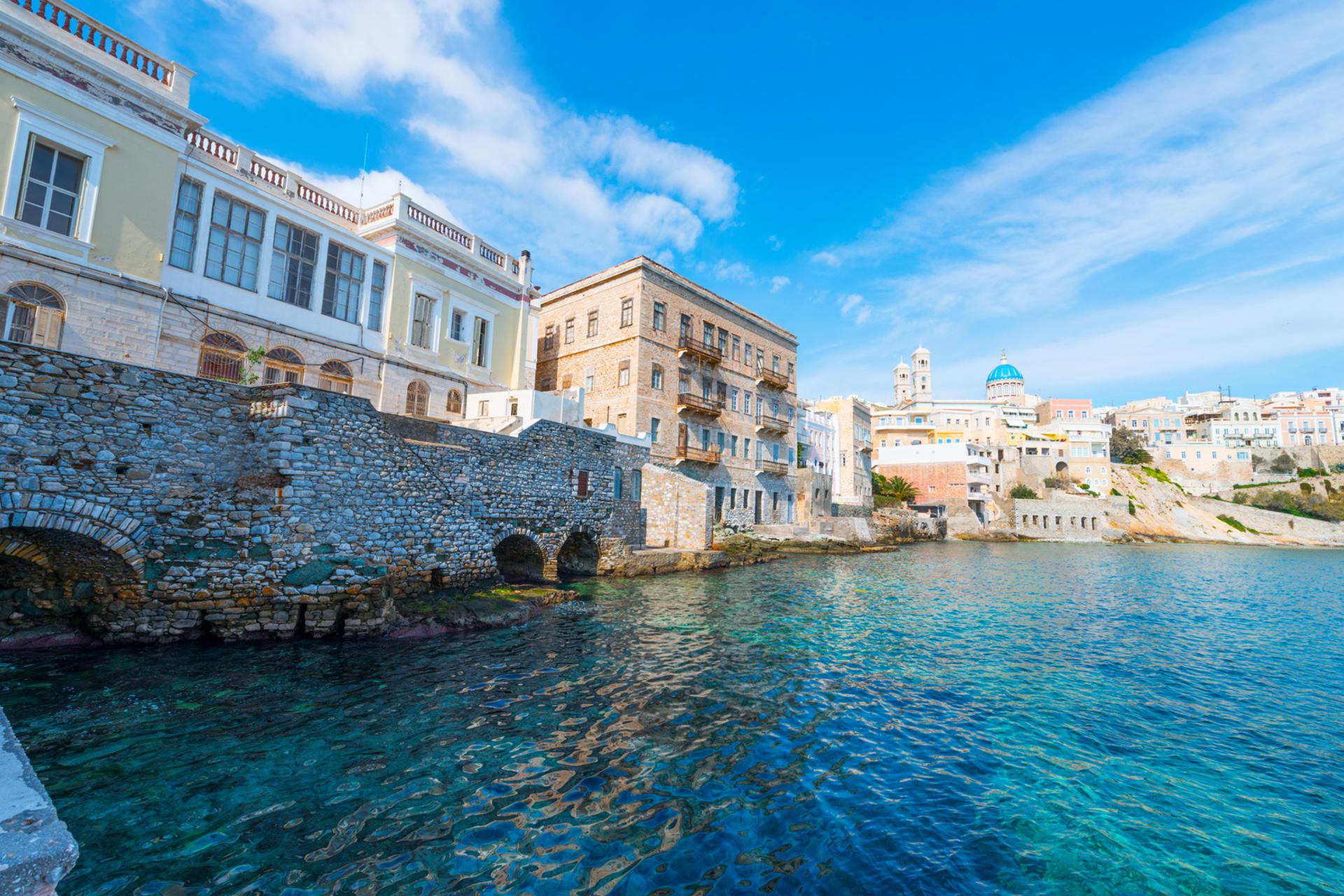 Cicladas Cosmopolitas – Atenas/Syros/Mykonos
