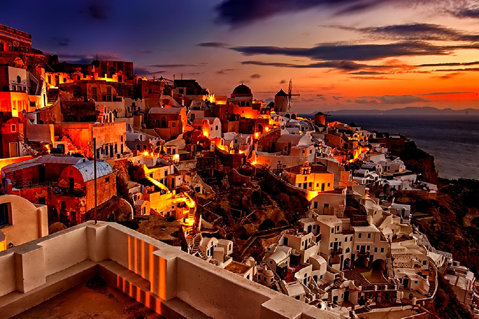 Atenas/Santorini