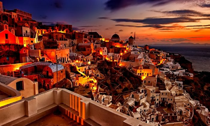 7 Day tour Athens and Santorini