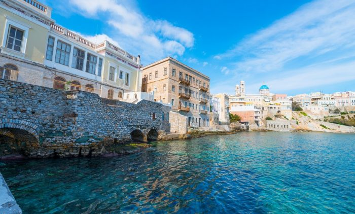 Athens, Syros and Mykonos tour package